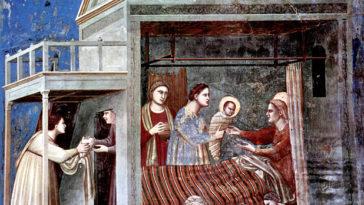 Narodzenie NMP, Giotto di Bondone