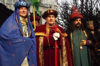 Trzej Królowie, orszak