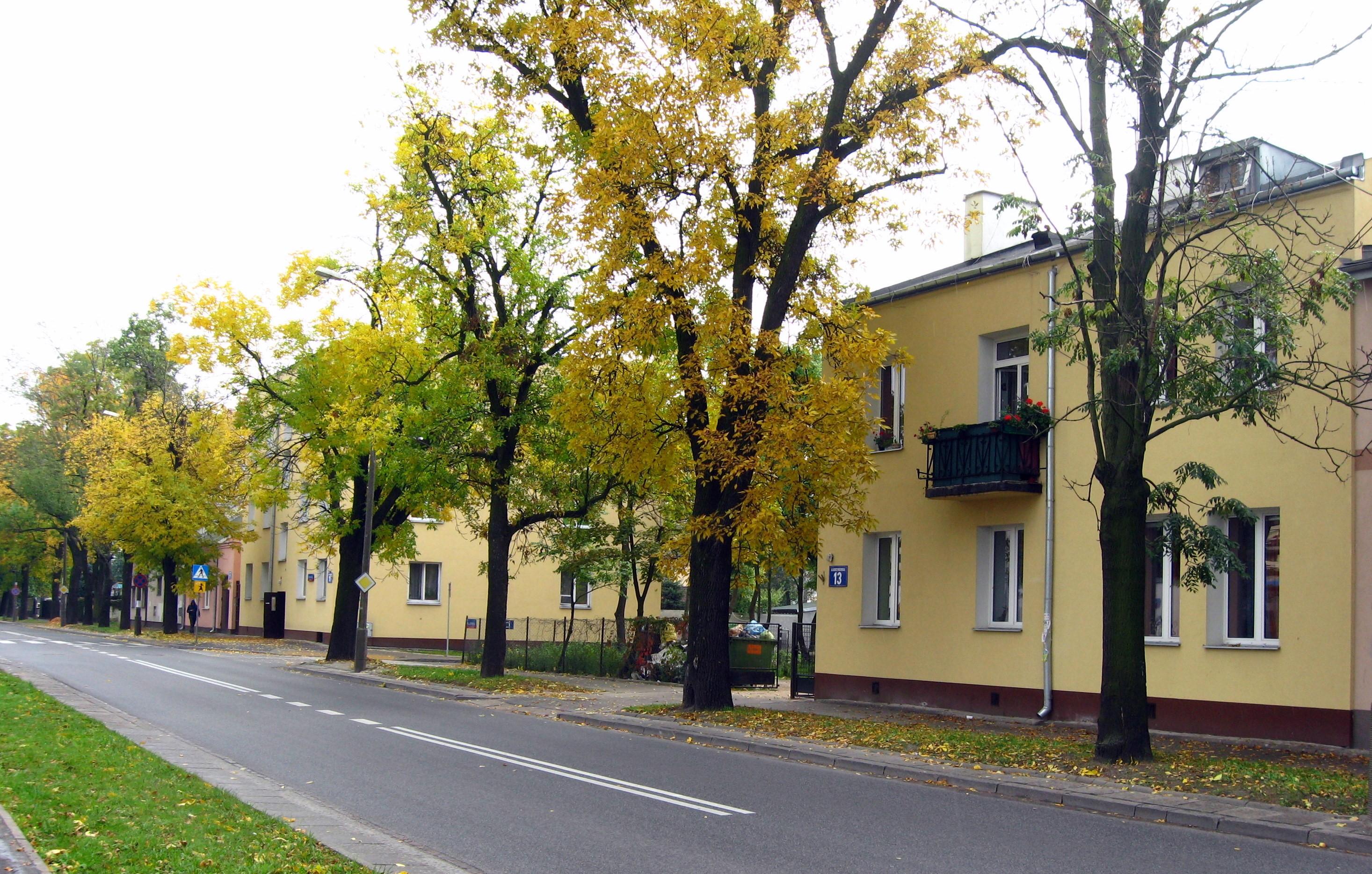 Targówek, ulica Borzymowska