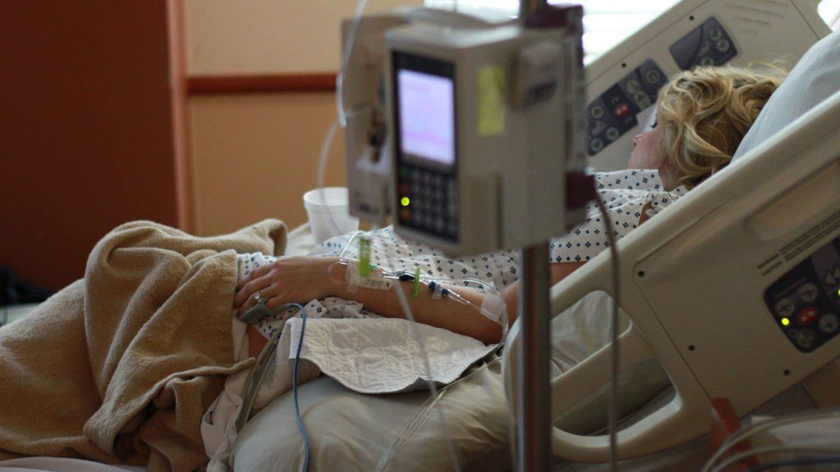 szpital, chory, pacjent, choroba