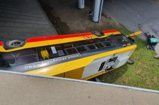 wypadku autobusu