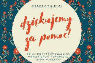 Darowizny Radio Warszawa
