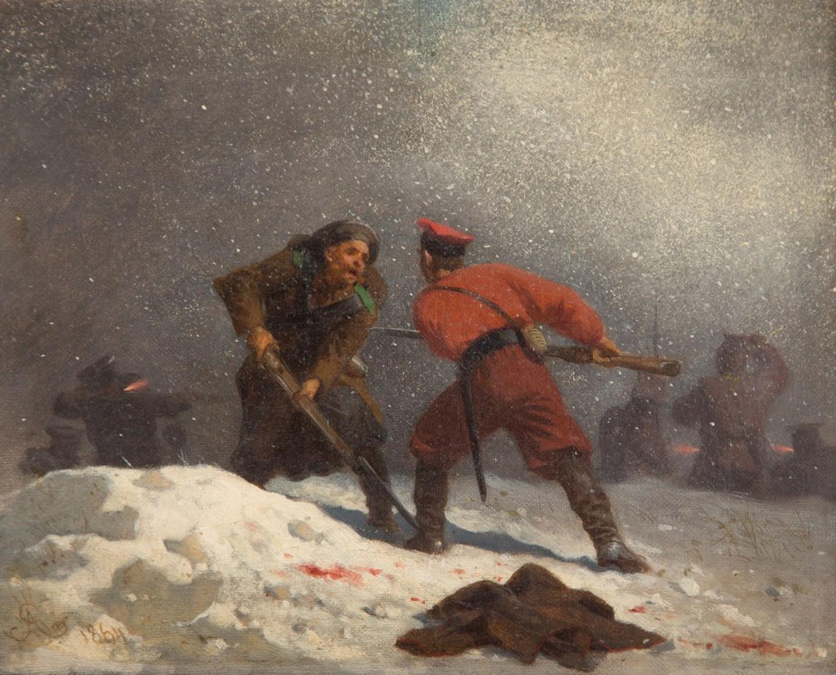 """Artur Grottger, """"Wojna"""", 1864"""