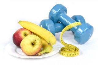 dieta, ćwiczenia. zdrowy tryb życia