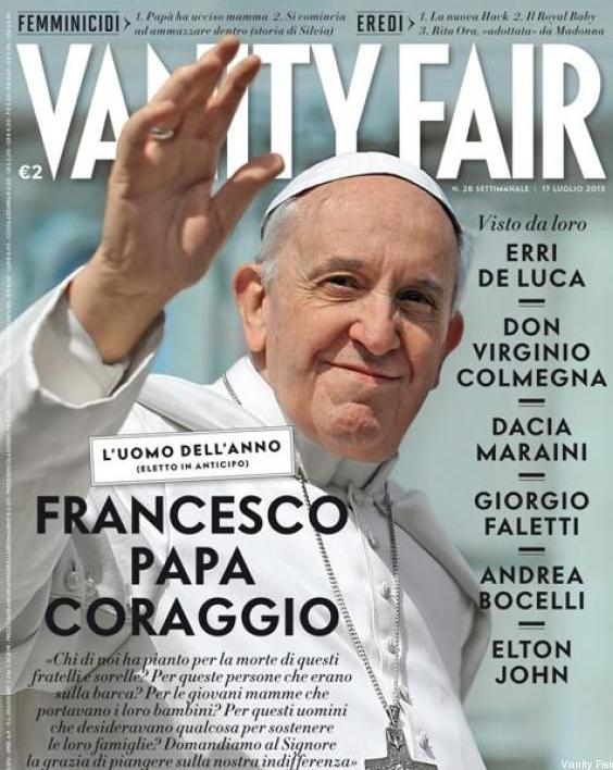 Franciszek, Vanity Fair